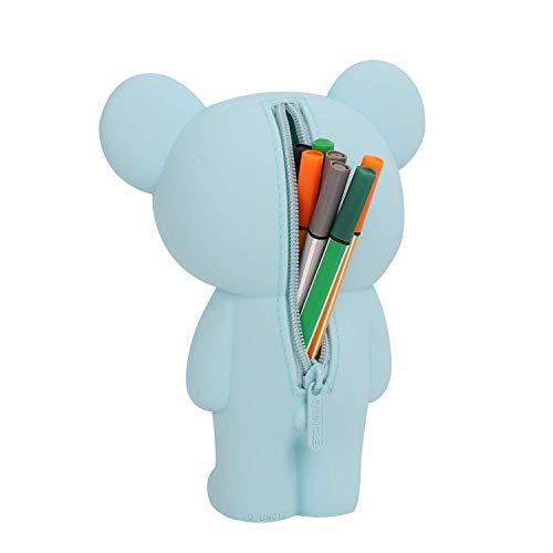 JINTN - Astuccio in silicone, per bambini, creativo, per penne, per scuola / ufficio /...