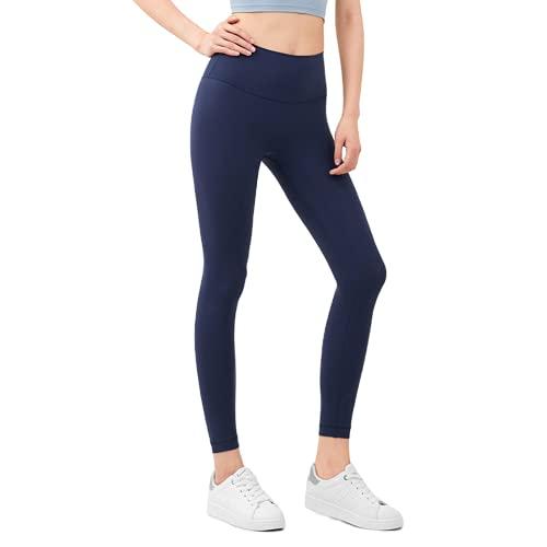 Pantalones de Yoga sin Costuras para Mujer de Color Puro, Flexiones, Celulitis, Gimnasio, Deportes, Correr, Cintura Alta, Mallas de Entrenamiento de energía A S
