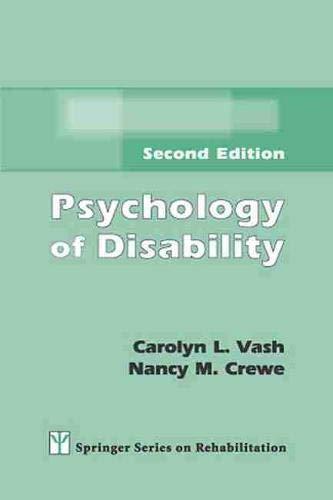 Psychology of Disability (Springer Series on Rehabilitation)