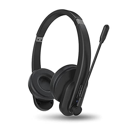 Auriculares Bluetooth OY632 con micrófono Auriculares inalámbricos con cancelación de Ruido Auriculares montados en la Cabeza para teléfonos PC Oficina en casa