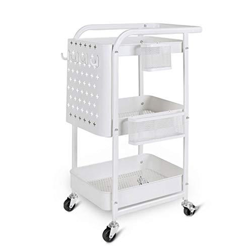 YouYou-YC Keuken plank IKEA trolley woonkamer slaapkamer opslag gat plaat schoonheidssalon beweegbare wielen trolley