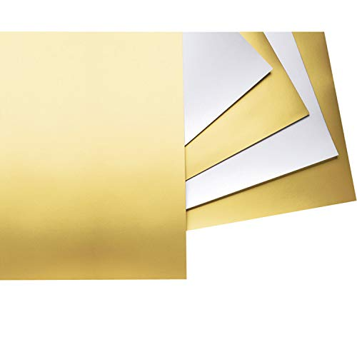 Pacon PAC54981 Poster Board, Gold, 22' x 28', 25 Sheets