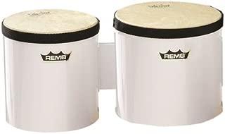 Remo Pre-Tuned Bongo Set - (White)