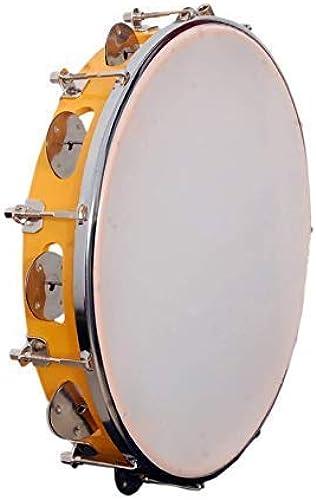 Tarun Musicals Dhapli Khanjari Tambourine Hand Percussion Musical Instrument 12 Inch DAFLI