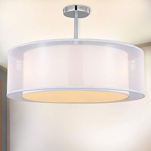 Lámpara de techo, SPARKSOR Foco para techo, Lámpara colgante de techo iluminación, Luz de techo, Lámpara de Dormitorio, Lámpara de Restaurante, 3 * E27