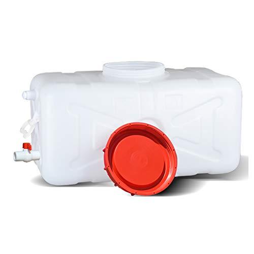 MORN Deposito Agua, Cubo de Gran Capacidad, Bidones para Agua Cuadrado Horizontal, Tanque de Agua, Cubo de Almacenamiento de Agua Cuadrado para Exteriores
