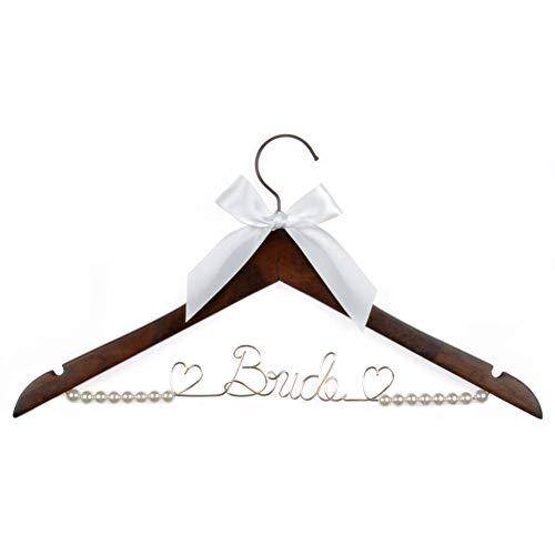 Vnque Wedding Dress Hanger Bride Hanger Wire Hanger Bridal Gift