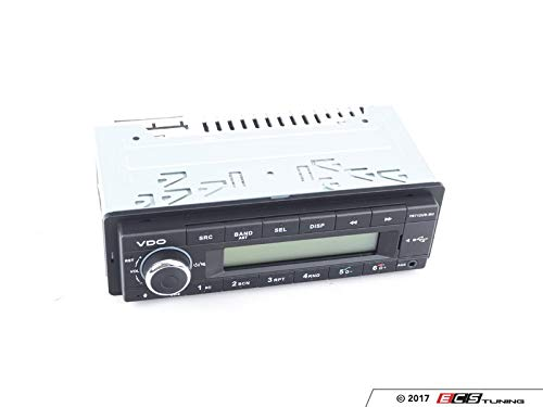 VDO 12 Volt Bluetooth PKW Auto Radio, RDS-Tuner, MP3, WMA, USB, 12V TR712UB-BU
