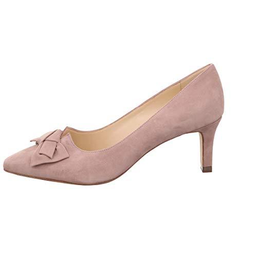Peter Kaiser Pumps, Mallory Velour Leder Rosa Damen Schuhe > Damen Pumps > Damen Pumps hoher Absatz Größe 4