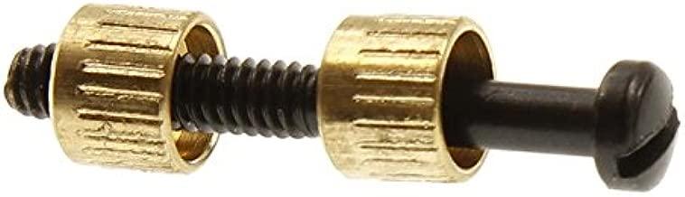 Numrich Universal Grip Screw and Brass Escutcheons Set
