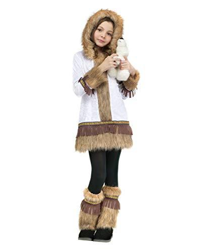 Horror-Shop Disfraz de niña esquimal XL