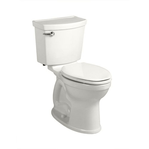 American Standard 241BA104.020 Champion-4 HET Right Height Round Front Toilet (2 Piece), White