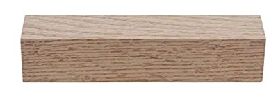 Red Oak Lumber Square Stock, Solid, Hardwood - 6 in x 1.25 in (Actual Size) - Finished on All Sides - USA Source - Great for Small Home Projects and Renovation