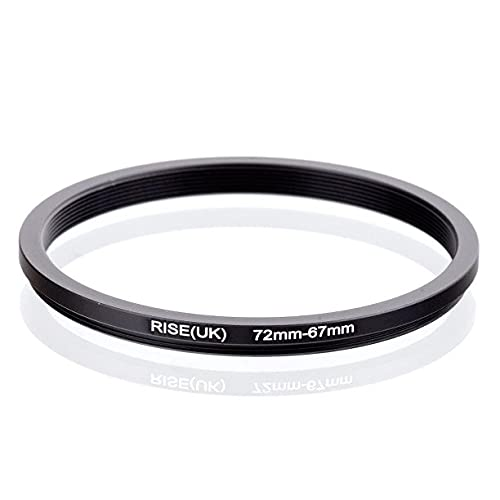 Step Down 72-67 mm Anillo adaptador 72-67 mm adaptador anillo 72 mm 67 mm 72-67 72 67 mm objetivo objetivo compatible con Nikon Canon Sony Panasonic Fujfifilm Olympus Leca Sigma Tamron Tamron Tokina