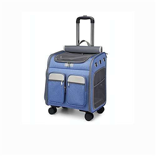 TAIJU - CHENCHEN - Mochila para mascotas, portátil, transpirable, de viaje, con funda rígida con malla transpirable ventilada, para mascotas, adecuado para exteriores, senderismo y fiestas