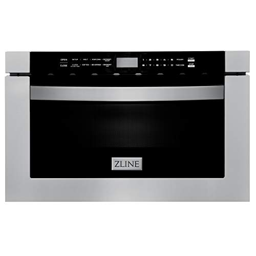 ZLINE 24 Built-in Microwave Drawer in Stainless
