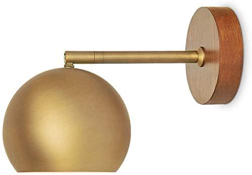 Lámpara industrial, Pared luz espejo luz de lectura de lectura ligera diseño ajustable iluminación iluminación interior iluminación moderno simple estilo simple estilo de madera dorado horneado pintur
