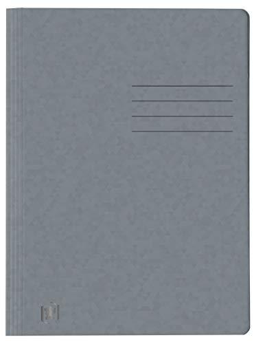 Oxford Schnellhefter A4, aus Karton, grau, 25 Stück
