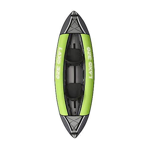 Gaoweipeng 1-3 Personas Kayak Hinchable Plegable Conveniente Bote Inflable Comodidad Piraguaseguridad Balsa Estabilidad Barco Adulto Unisex Canoa con Remos,Double People