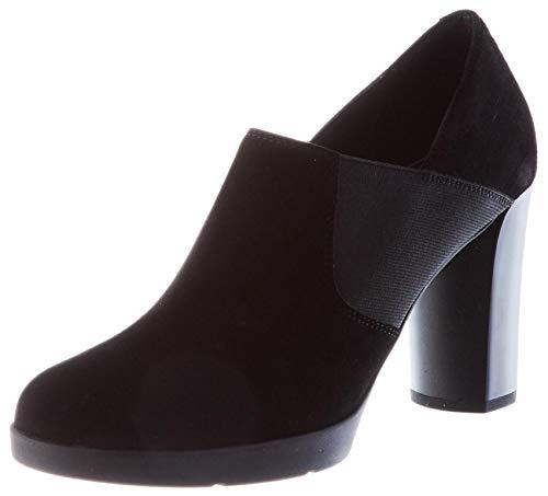 Geox Damen D ANYLLA HIGH H Ankle Boot, Schwarz (Black), 40 EU