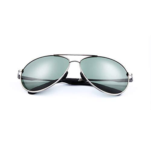 LDCXQYNB Hombres Aviación Gafas de Sol Señoras Gafas de Sol Gafas de Sol Piloto Mujeres/Hombres Gafas de Sol clásicas Gafas de Verano Eyewear de manejo,Plata