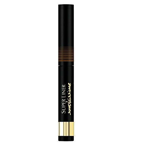 L'Oréal Paris Super Liner Smokissime, 102 Brown Smoke - Eyeliner mit ultra-weichem Applikator und einzigartiger Puder-Textur - für einen unglaublich geheimnisvollen Look, 1er Pack (1 x 1 g)