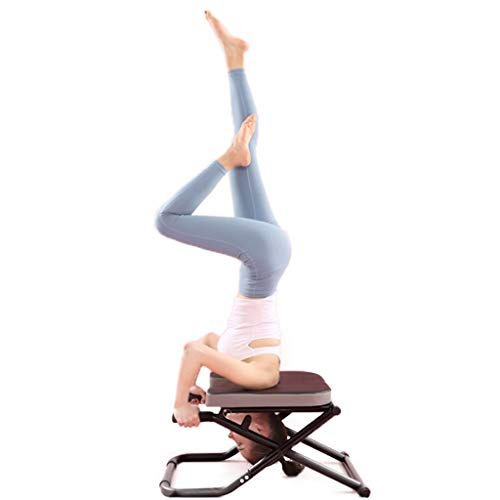 Buy Discount KATUEF Yoga Inverted Chair, Collapsible Yoga Fitness Stool, Suitable for Home Gym Exerc...