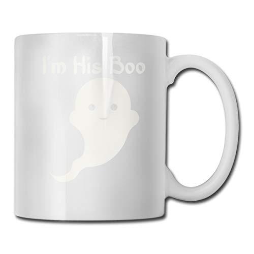Funny Coffee Mug I'M His Boo Coffee Tea Cup Unique Festival Birthday Present For Men Women 11 Ounce