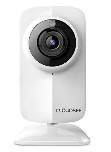Jovision® JVS-DA230 | Überwachungskamera | Bewegungserkennung mit Push Benachrichtigung | LAN | WiFi | 2 MP | Full-HD | SD-Kartenslot (bis zu 128 GB -Class 10)
