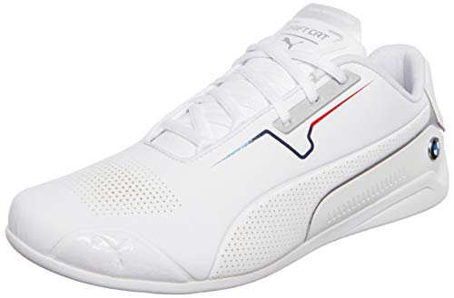 Puma BMW MMS Drift Cat 8, Zapatillas Unisex Adulto, White White, 48.5 EU