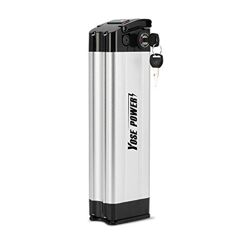 YOSE POWER E-Bike Akku 36V 10Ah (370Wh) Pedelec Batterie für Aldi Prophete MiFa Trio Zhenlong Phylion