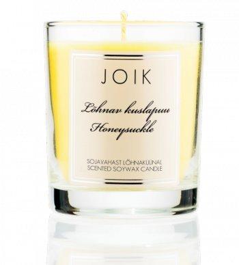 Joik - Duftkerze aus Sojawachs - Honeysuckle
