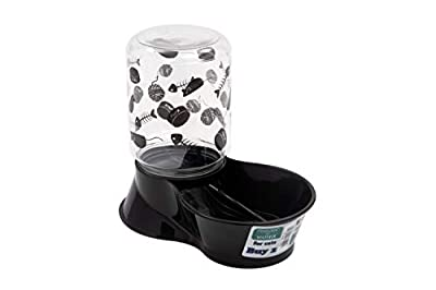 Lixit Animal Care Cat Feeder/Fountain Reversible Base, 64-Ounce