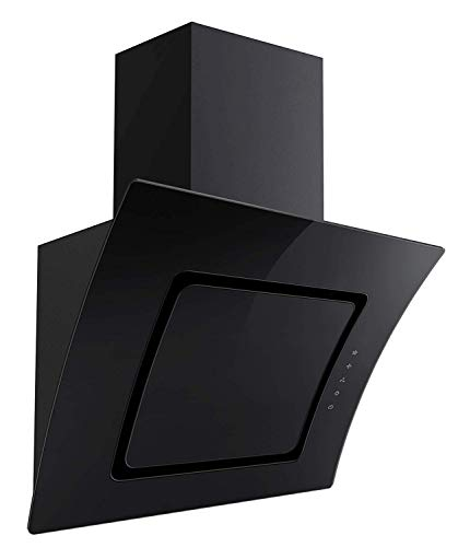 Respekta CH55060SA Hotte inclinée concave Noir 60 cm