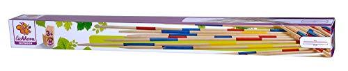 Eichhorn – Outdoor Mikado – bestehend aus 41 Spielstäben mit jeweils 50 cm Länge, inkl. Spielanleitung, aus Bambus, für Kinder ab 3 Jahren geeignet