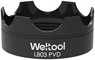 Weltool Flashlight Strike Bezel Black LB03 PVD for Maglite C or D Cell Flashlights LED ML300L product image