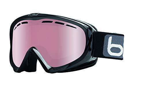 Bolle Y6 OTG Black Shiny/Black Shiny   Medium-Large - Snow Goggles Unisex-Adult
