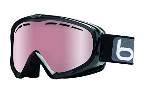 Bolle Y6 OTG Black Shiny/Black Shiny | Medium-Large - Snow Goggles Unisex-Adult