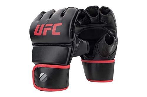 UFC Herren Contender Fitness Glove MMA Handschuhe, Schwarz/rot, L/XL