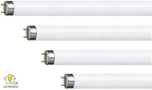 Pack de 4 fluorescentes de repuesto para trampa para insectos/matamoscas de 30 W de la marca Vermatik F15 T8 BL368