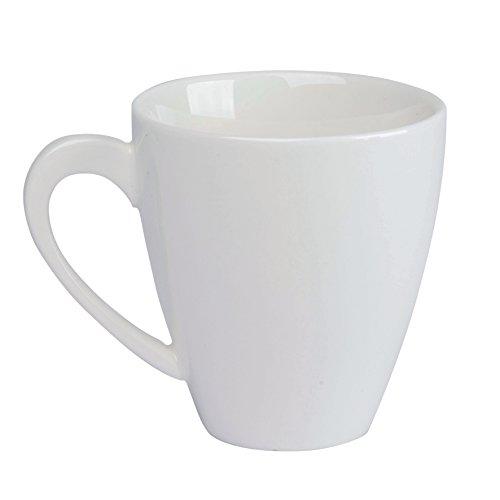 Dajar Tasse Porto 190ml, Porzellan, Weiß, 8 x 10 x 8 cm