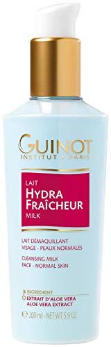 Guinot Lait Hydra Fraicheur Refreshing Aloe Vera Extract Latte Struccante, Tutti Tipi di Pelle- 200 ml