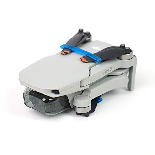 3dquad Propeller Transport Schutz, Blade Holder, Clip für DJI Mini 2 Drohne (Blau)