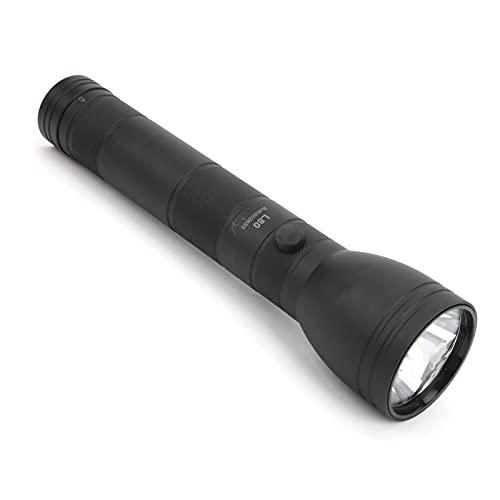 IDWT Linterna LED, Linterna De Sujeción con Una Mano, Batería De Larga Duración Recargable para Caminatas En Caso De Emergencia