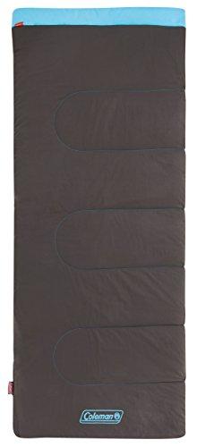 Coleman Schlafsack Heaton Peak Comfort, Deckenschlafsack Camping, leichter Sommerschlafsack, Outdoor und Indoor nutzbar, 205 x 85 cm, Komforttemperatur +7 °C