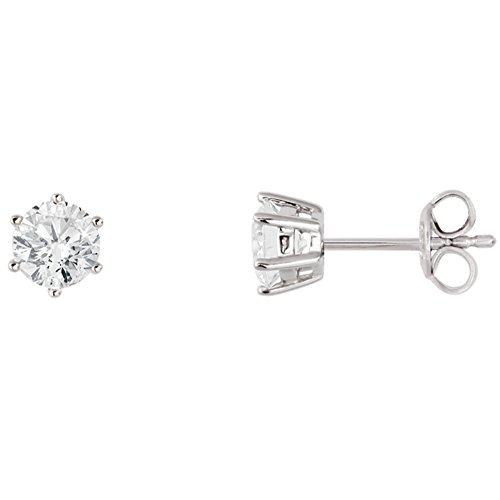 XENOX Ohrringe XS7262 Damen Ohrstecker Silver Circle Sterling-Silber 925 Silber weiß Zirkonia
