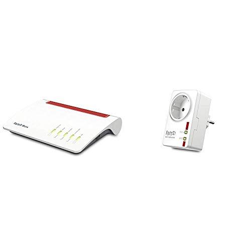 AVM FRITZ!Box 7590 High-End WLAN AC + N Router + Dect 100, geeignet für Deutschland