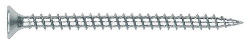 Index TPPOZ60100 - Tornillo tirafondo pozidriv zincado cabeza 90 avellanada lubrificado 6,0...