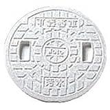 丸マス蓋 樹脂製 300型 JM300ULW(汚水・穴なし) 城東