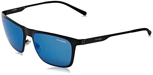 Arnette 501/55 Gafas de sol, Matte Black, 56 para Hombre